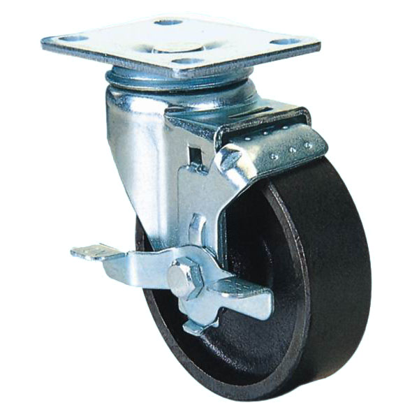 Medium Duty Series: Cast Iron castors