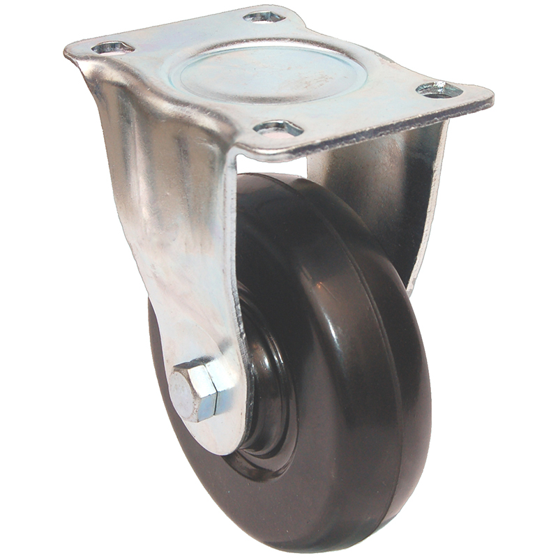 Medium Duty Series: Rubber Castors