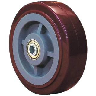 Extra Heavy Duty Series: Single wheel series with bearing